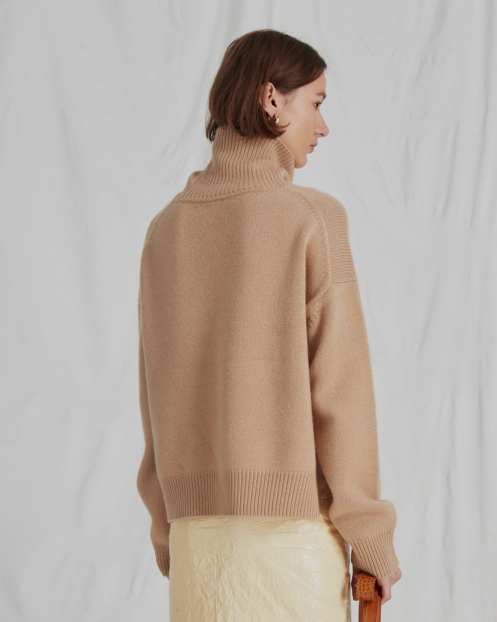 Lyn Knit Sweater Cashmere Beige - WEBSHOP EXCLUSIVE