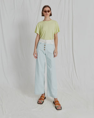 Valerie Jeans Cotton Denim Ombre Sky - ADDITIONAL 10% OFF SALE PRICE