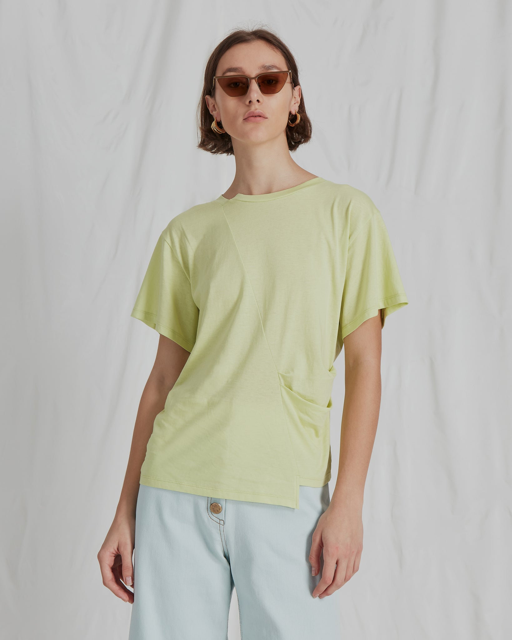 Sabrina T-Shirt Cotton Jersey Green