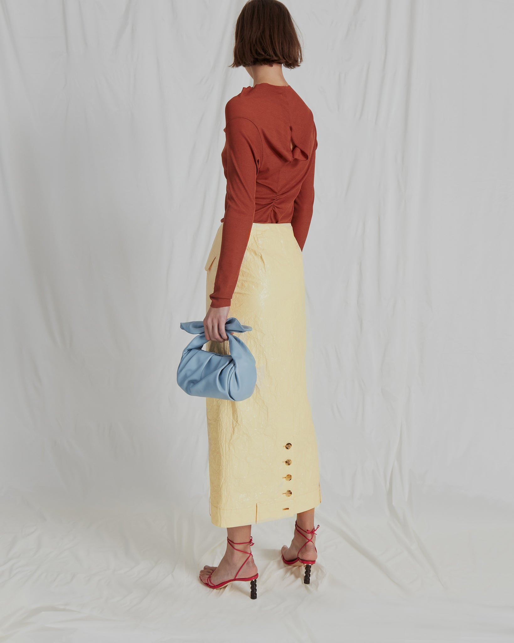 Sabina Skirt Tyvek Butter Yellow