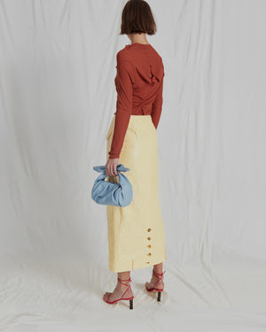 Sabina Skirt Tyvek Butter Yellow - SPECIAL PRICE