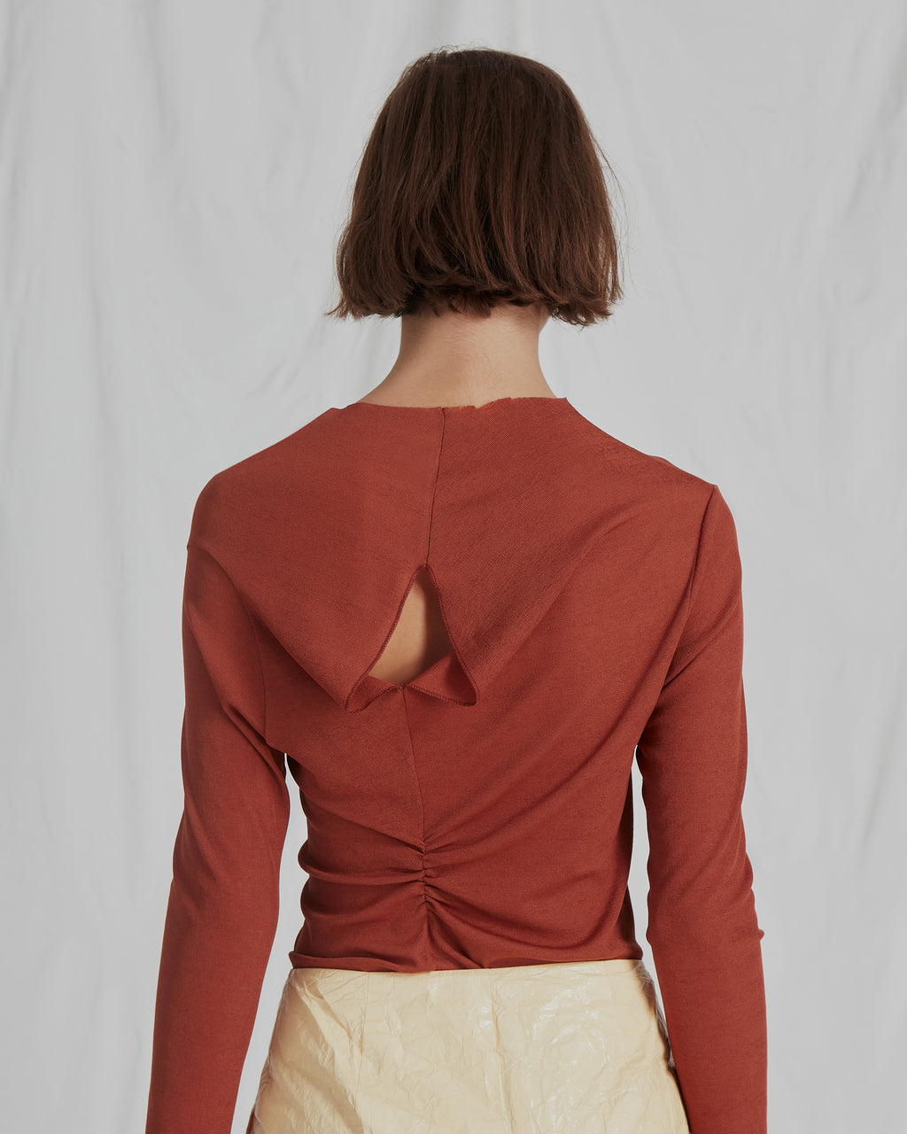 Alix Top Jersey Chestnut