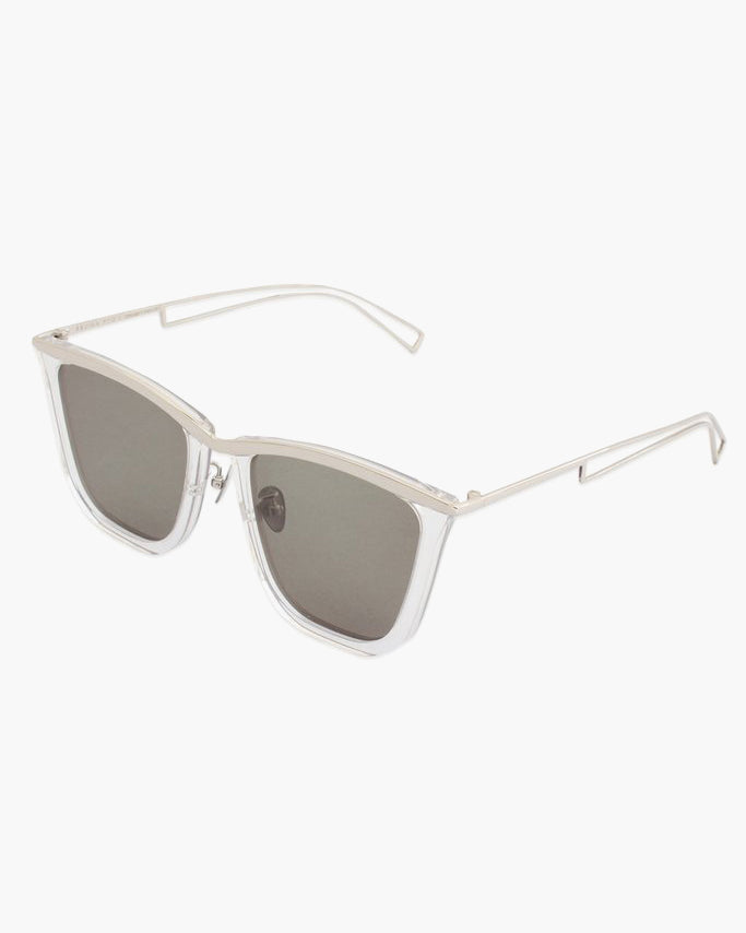 Clear Frame with Grey Lens - SPECIAL PRICE