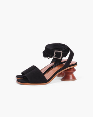 Sonia Sandals Leather Black