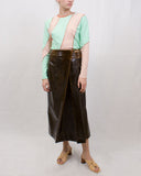 Reese Top Jersey Mint Green + Light Peach Mix - SPECIAL PRICE