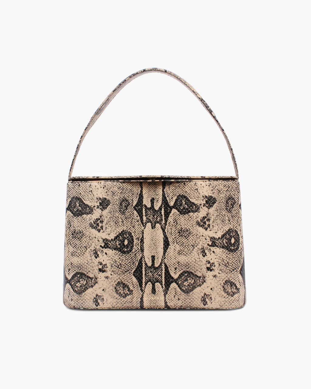 Felix Bag Leather Print Boa Beige - WEBSHOP EXCLUSIVE