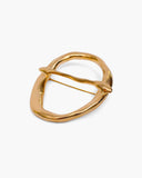 Buckle Brooch Gold Plated 18k