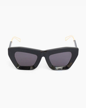 Marta Sunglasses Black Frame with Black Lens