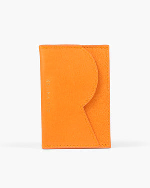 RP Card Holder Leather Orange