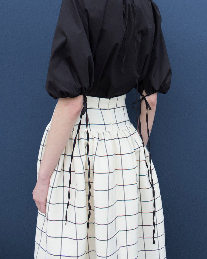 Freya Check Skirt