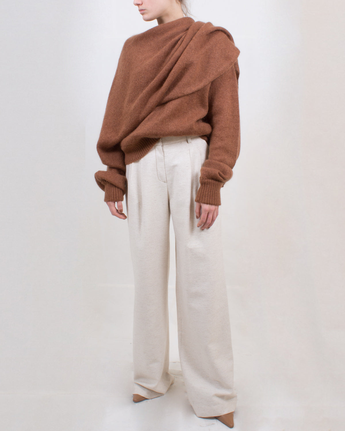 Eddie Trousers Ivory - SPECIAL PRICE