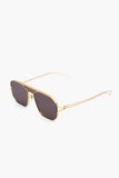 Alex Titanium Sunglasses Gold
