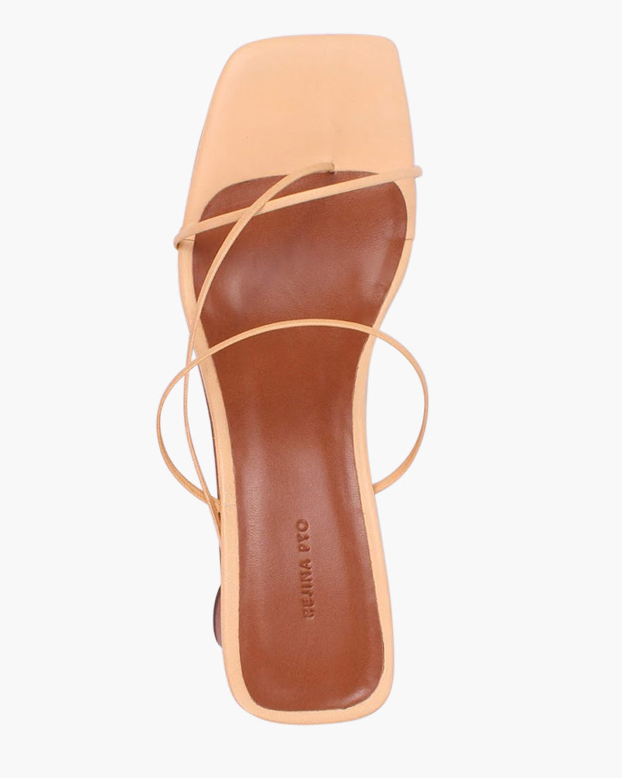 Harley Sandals Leather Peach Cream