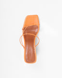Harley Sandals Leather Orange