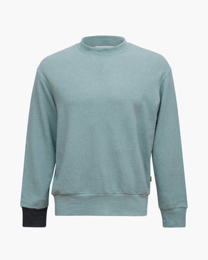 Drew Sweatshirt Cotton Sweatshirt Mint Mix