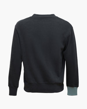 Drew Sweatshirt Cotton Sweatshirt Black Mix