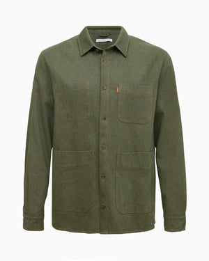 Oliver Jacket Cotton Khaki  - UNISEX