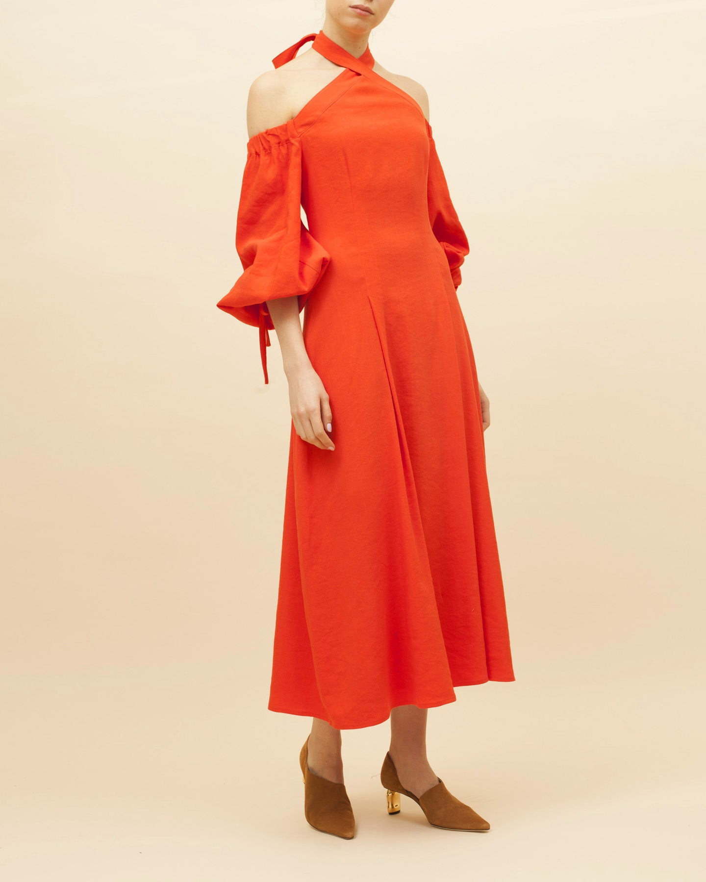 Odelia Dress Orange
