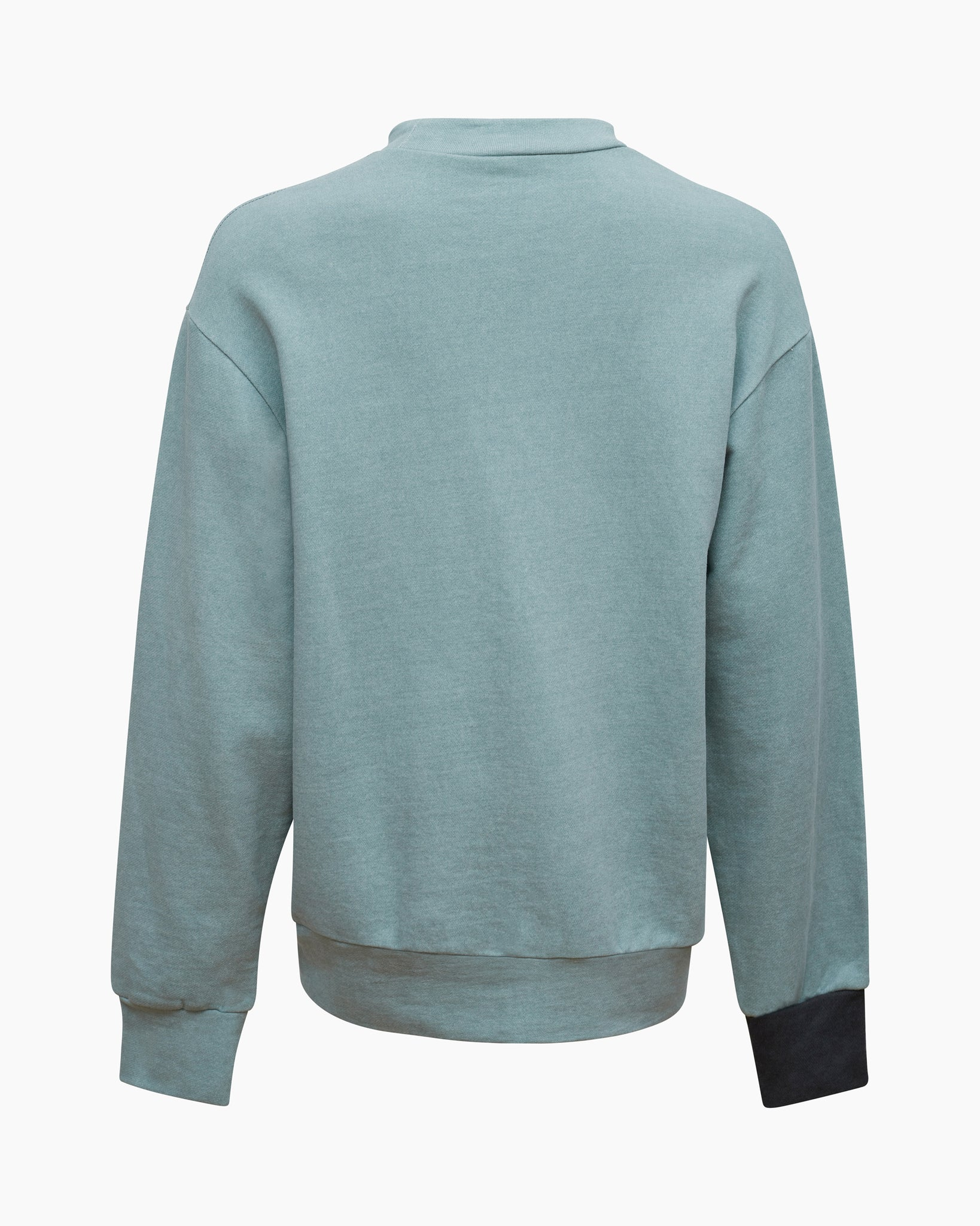 Drew Sweatshirt Cotton Sweatshirt Mint Mix  - UNISEX