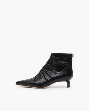 Erin Boot Leather Black Mix