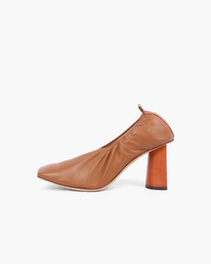 Edie Pumps Leather Brown - SPECIAL PRICE