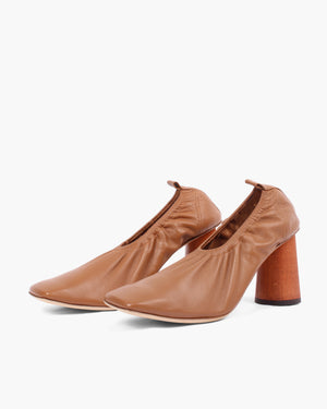 Edie Pumps Leather Brown