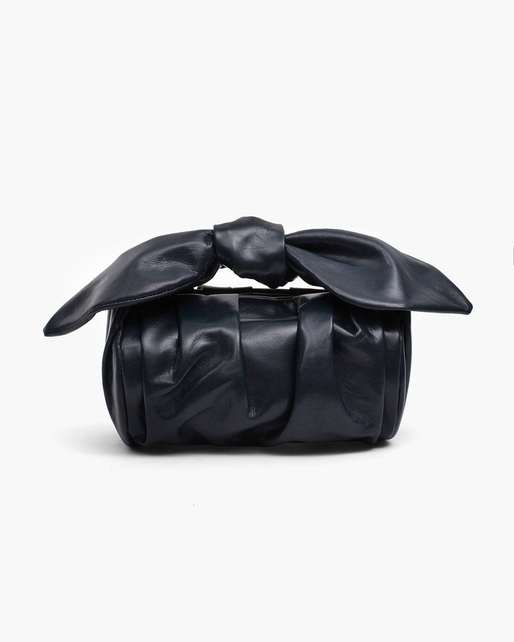 Nane Bag Leather Shiny Navy