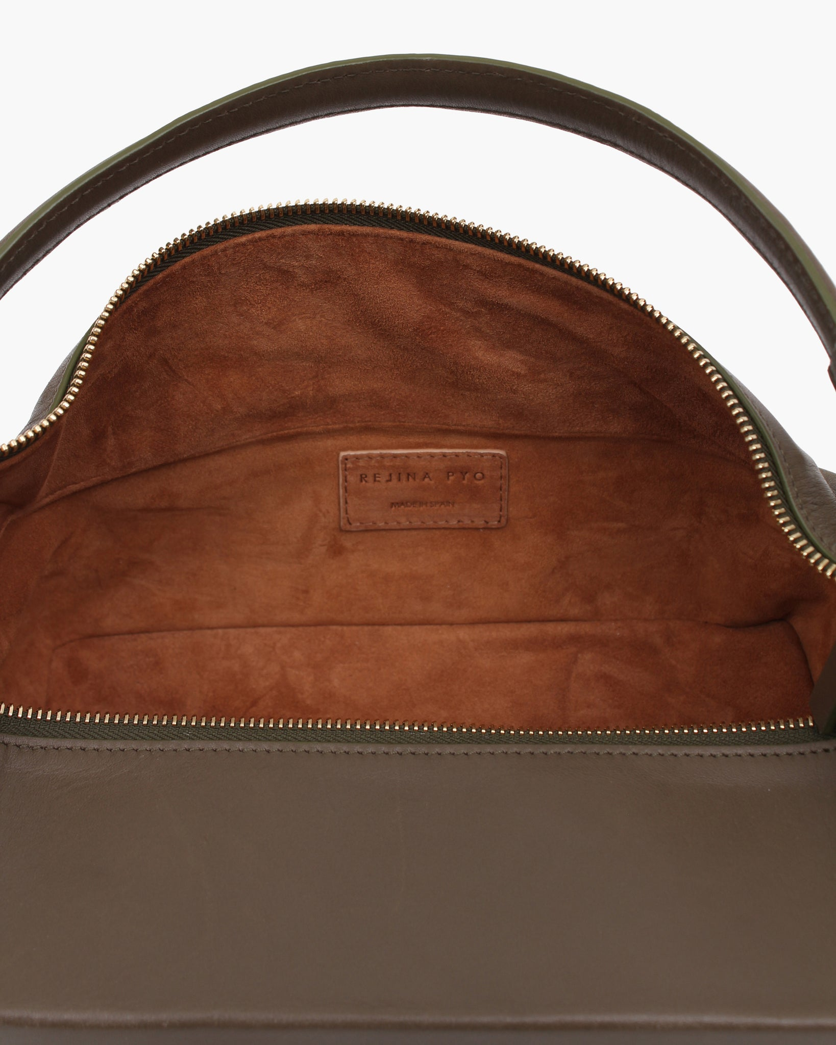 Olivia Bag Leather Khaki Green