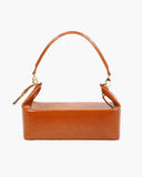 Olivia Bag Patent Leather Emboss Almond