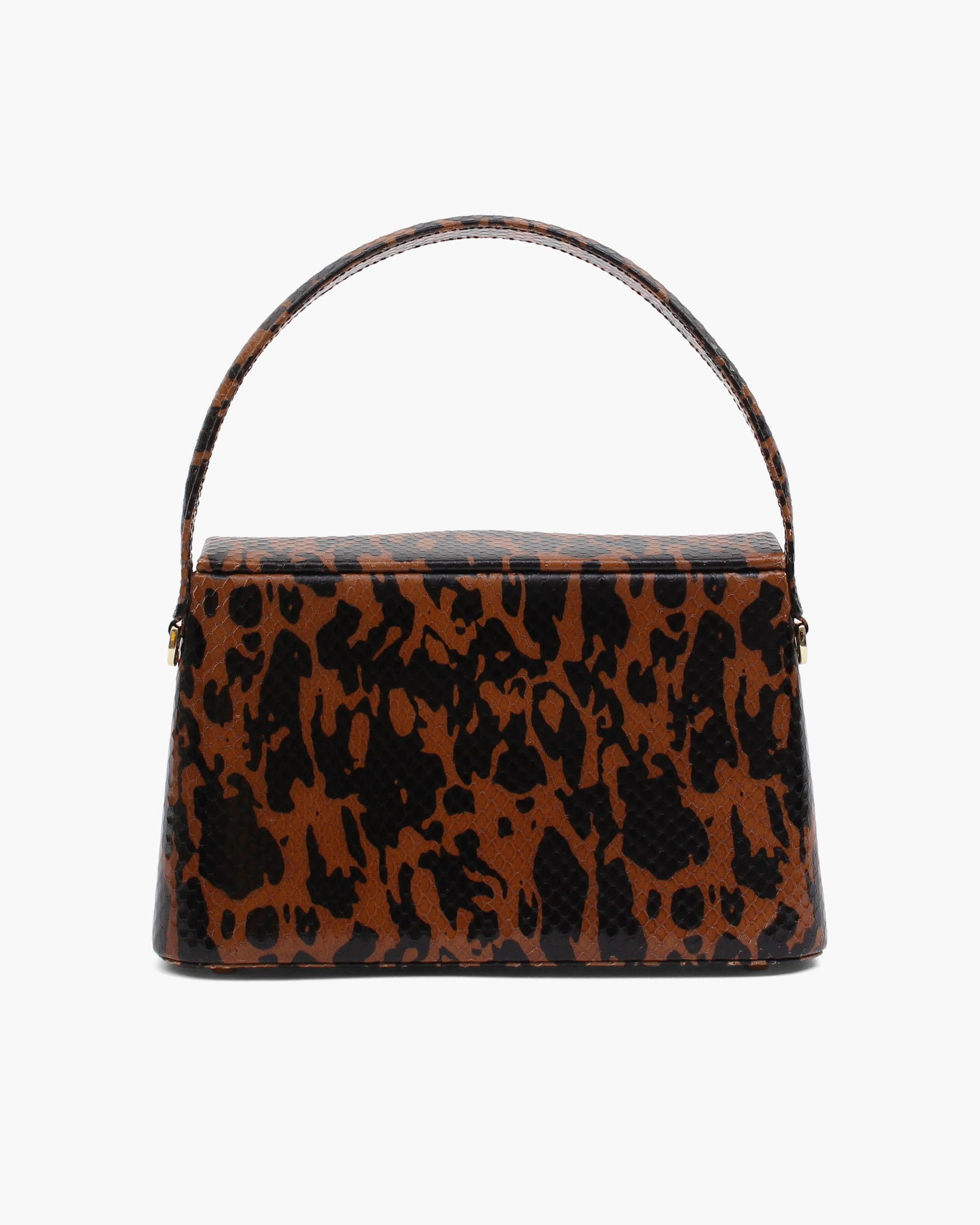 Mini Felix Bag Leather Print Jatai Brown
