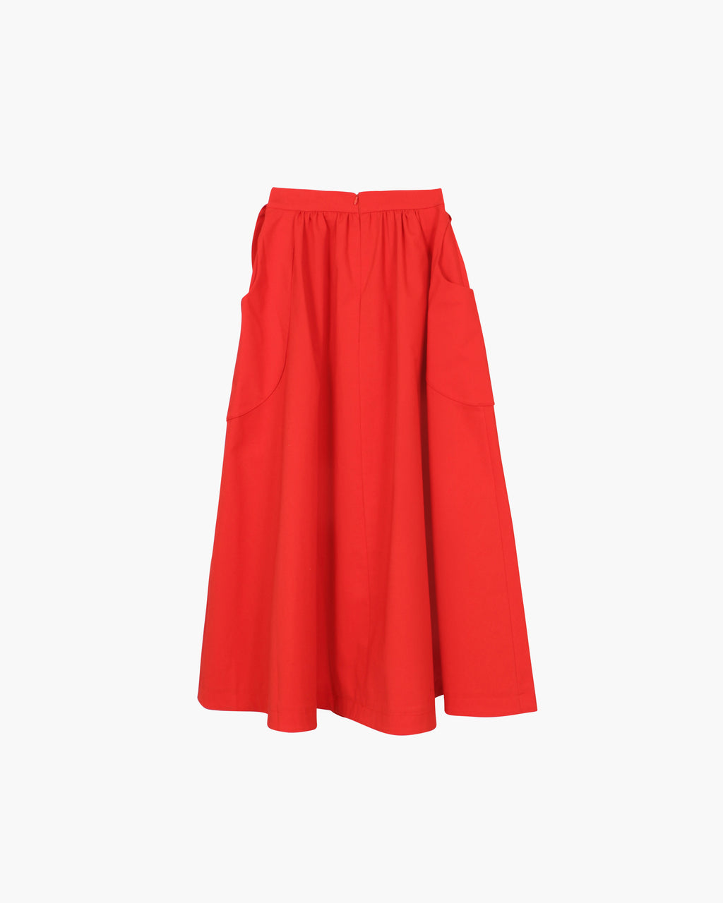 Daisy Skirt Cotton Red