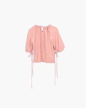 Sofie Shirt Blush Crepe - SPECIAL PRICE