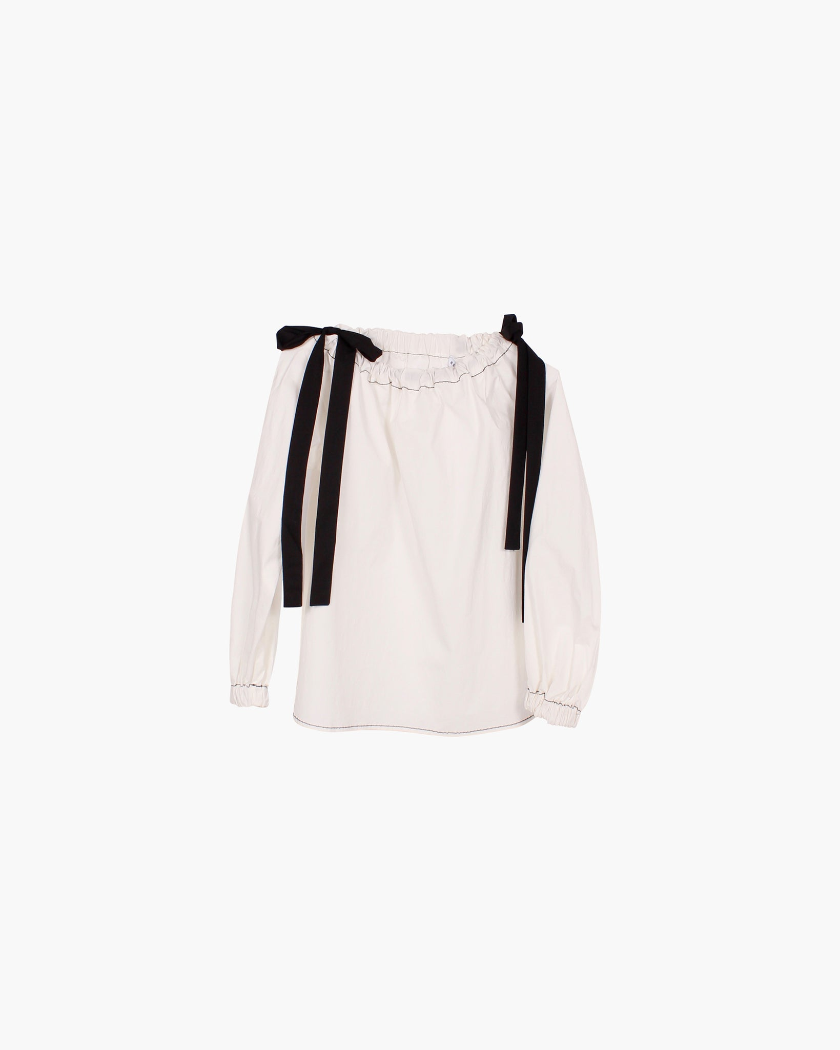 Heidi Cotton Poplin Off-white - SPECIAL PRICE
