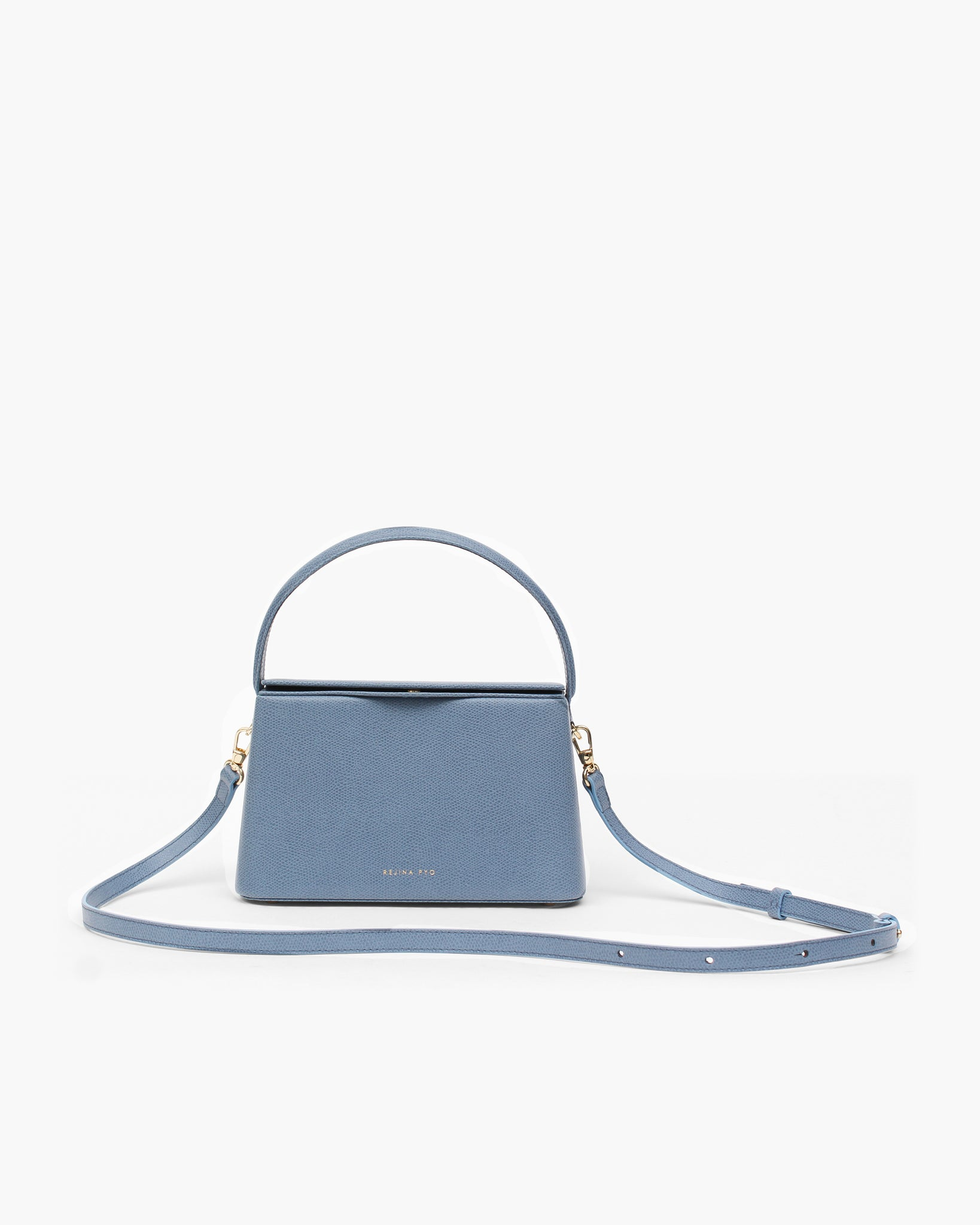 Mini Felix Bag Leather Blue