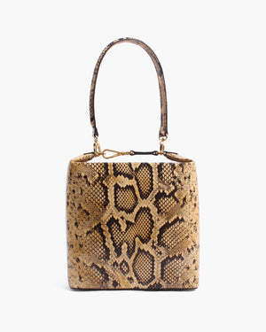 Lucie Bag Leather Print Snake