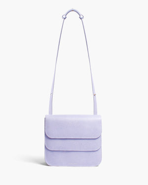 Ana Bag Leather Emboss Lavender