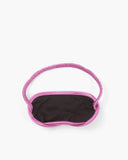Eye Mask Hammered Silk Pink