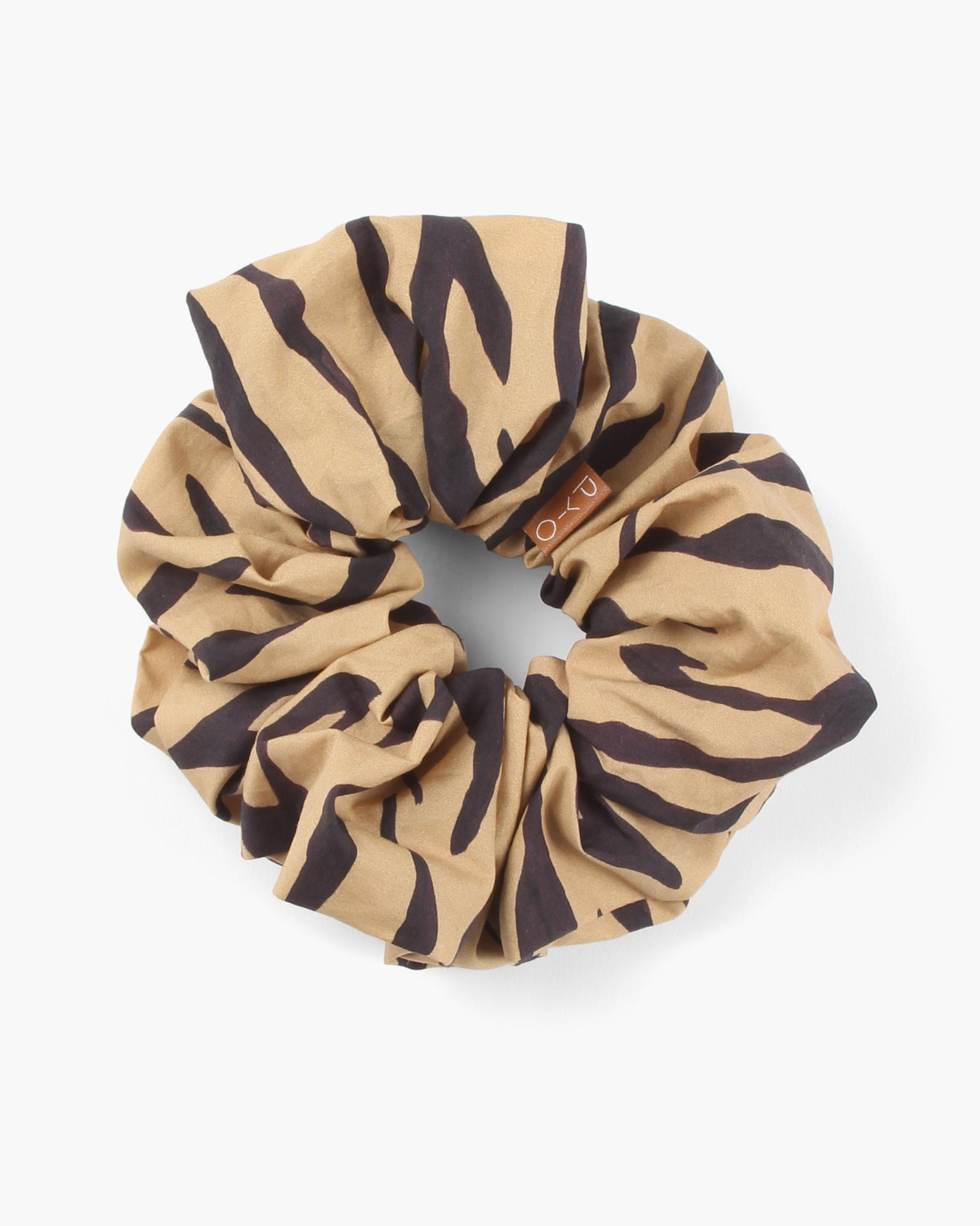 Scrunchie Cotton Tiger