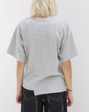 Sabrina T-Shirt Knit Jersey Grey