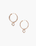 Infinity Earrings Gold Plated