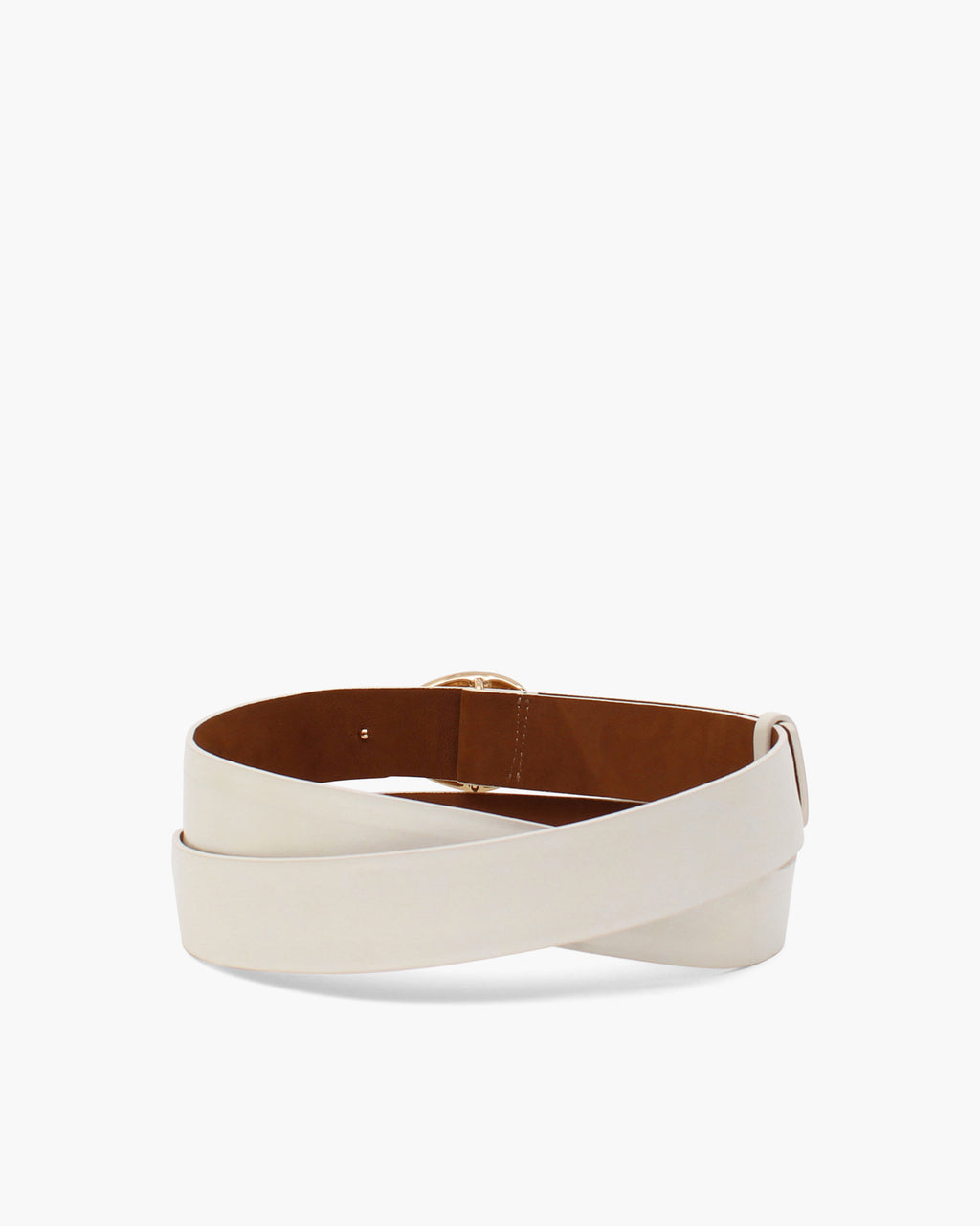 Margot Belt Leather Cream