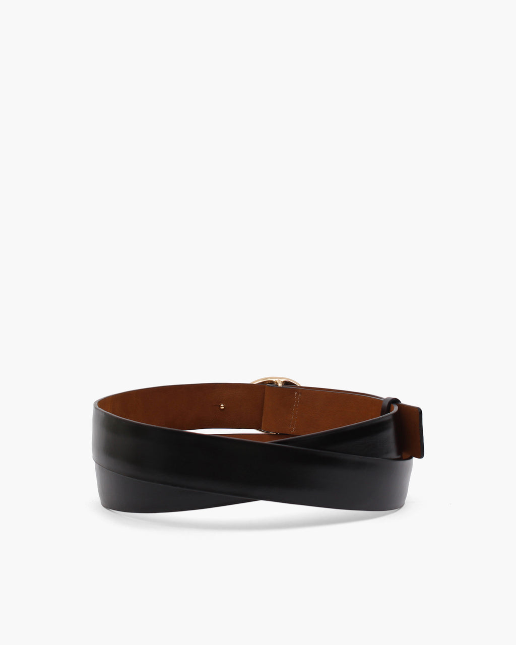 Margot Belt Leather Black