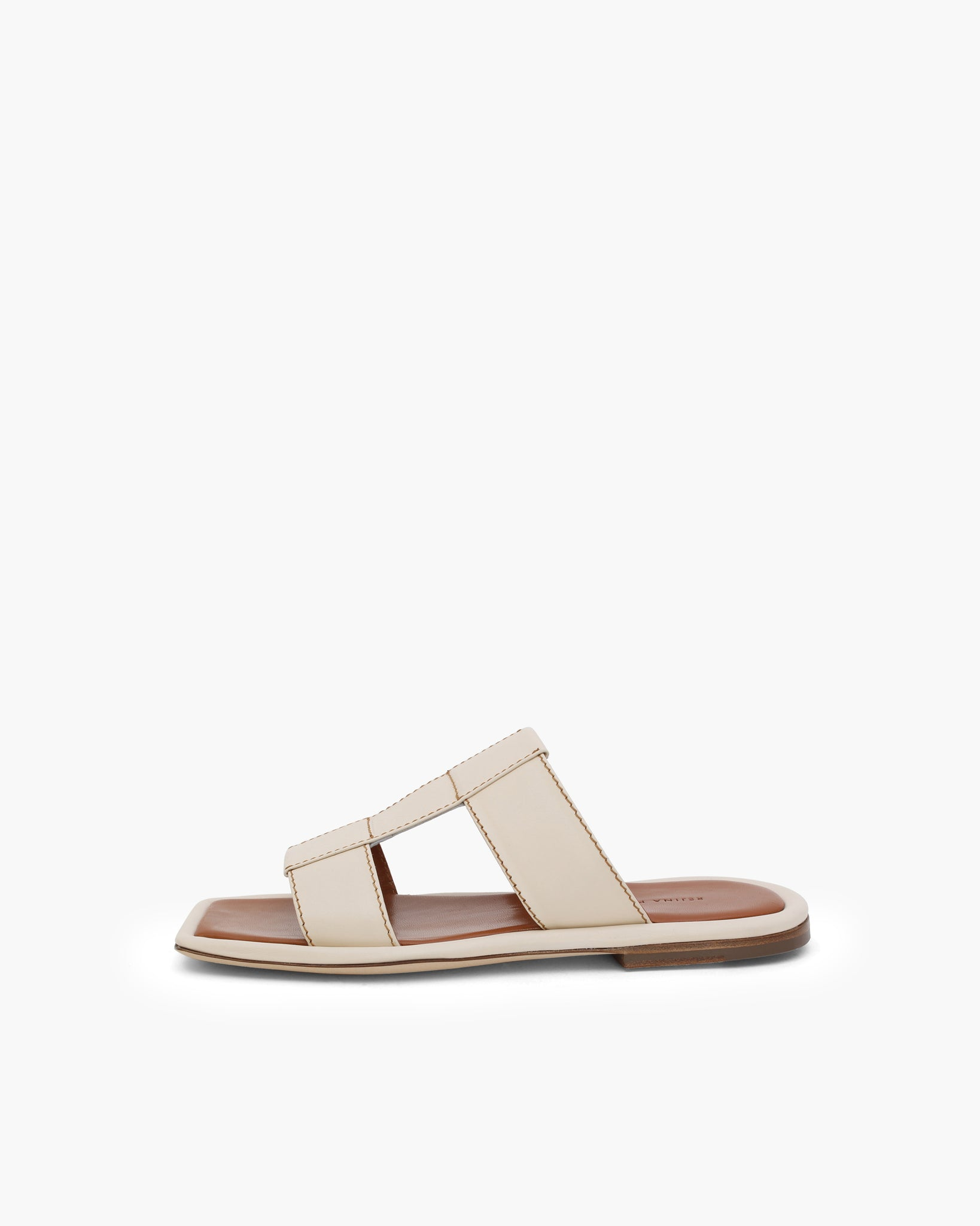 Rowan Sandals Leather Ivory