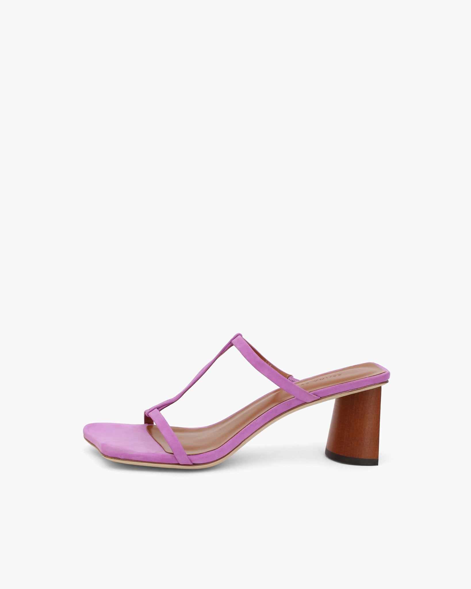 Erin Sandals Leather Purple