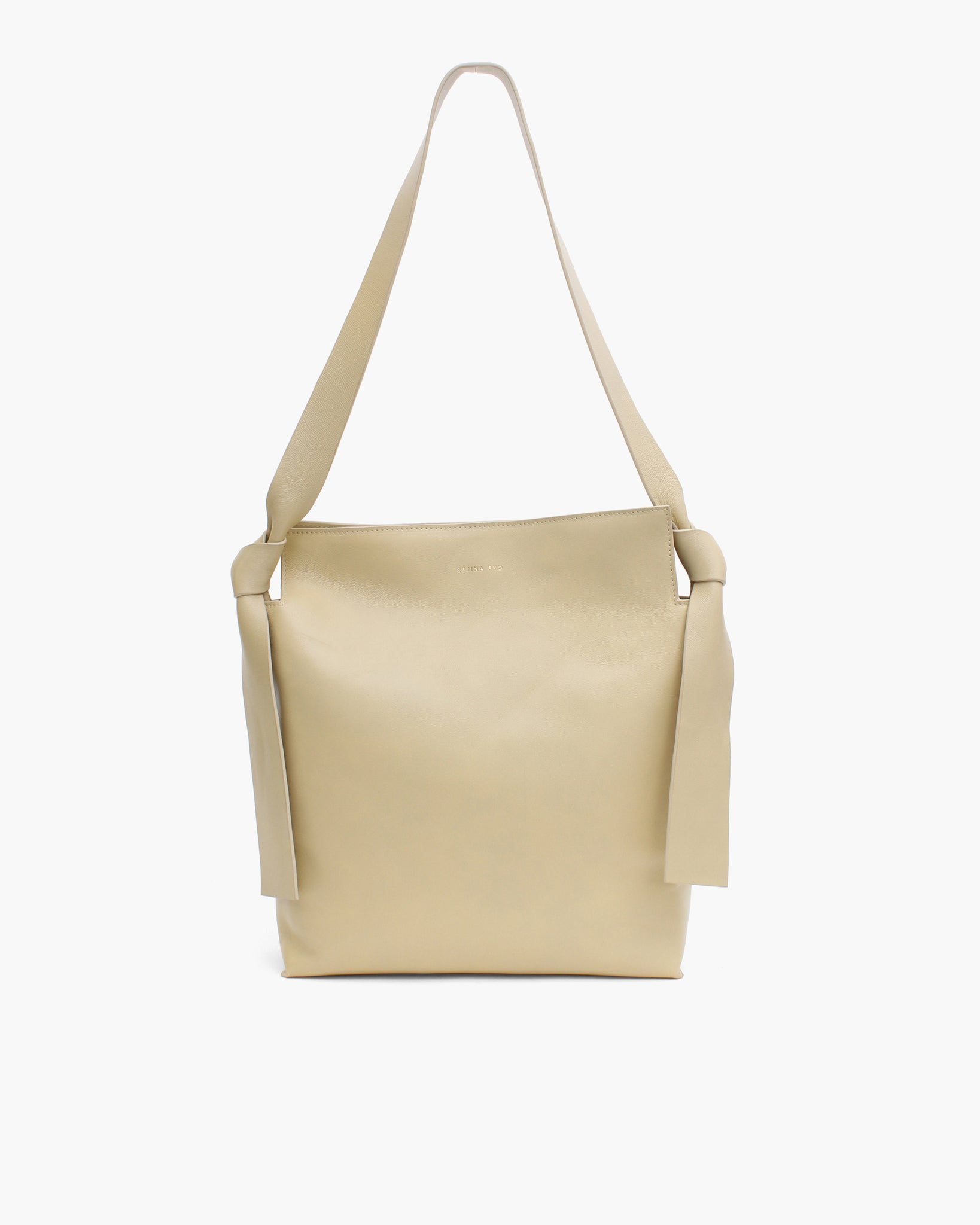 Angela Tote Leather Beige