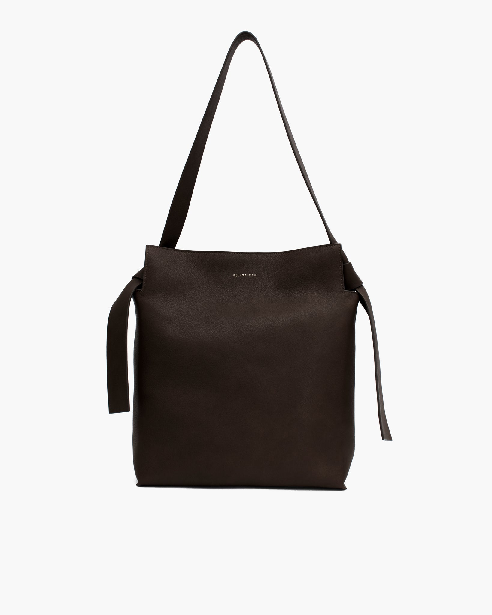 Angela Tote Leather Black