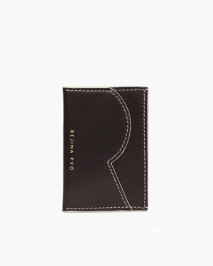 RP Card Holder Leather Black