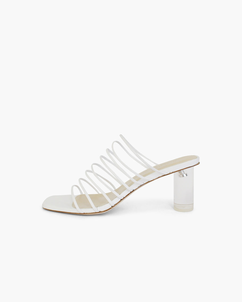 Zoe Sandals Leather White - SPECIAL PRICE