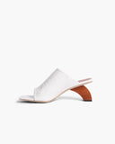 Leah Sandals Leather White - SPECIAL PRICE