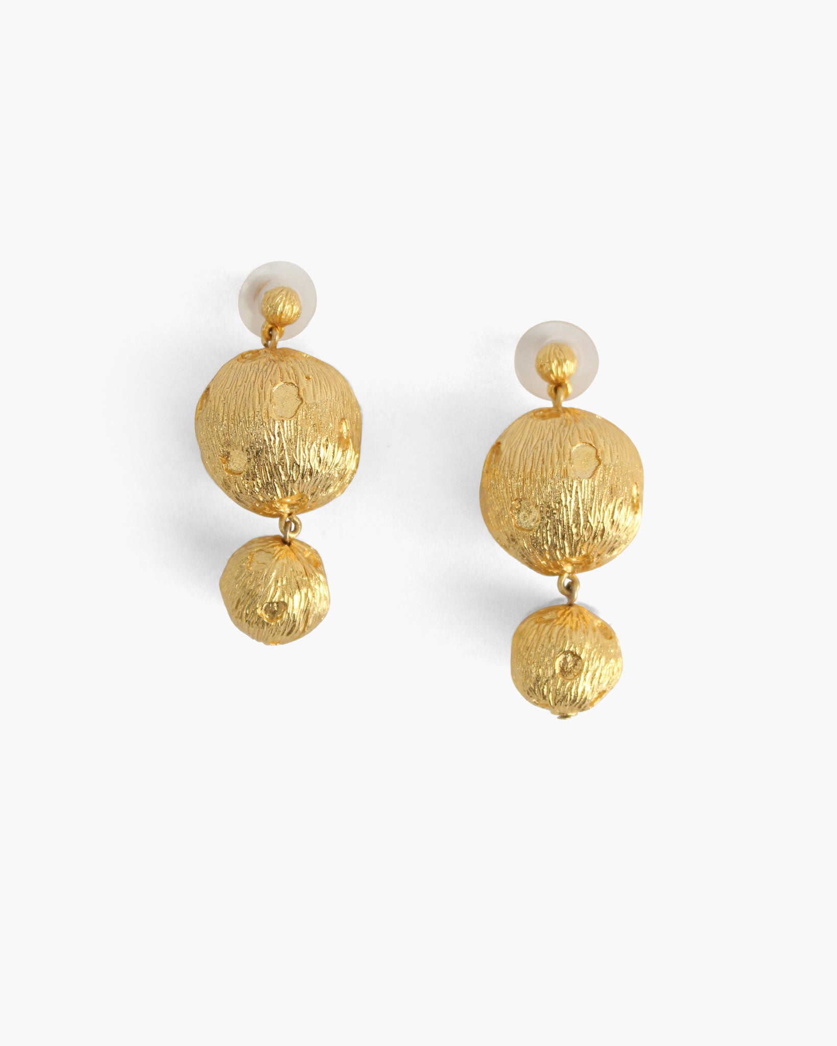 Cameron Earrings Gold Plated Leopard
